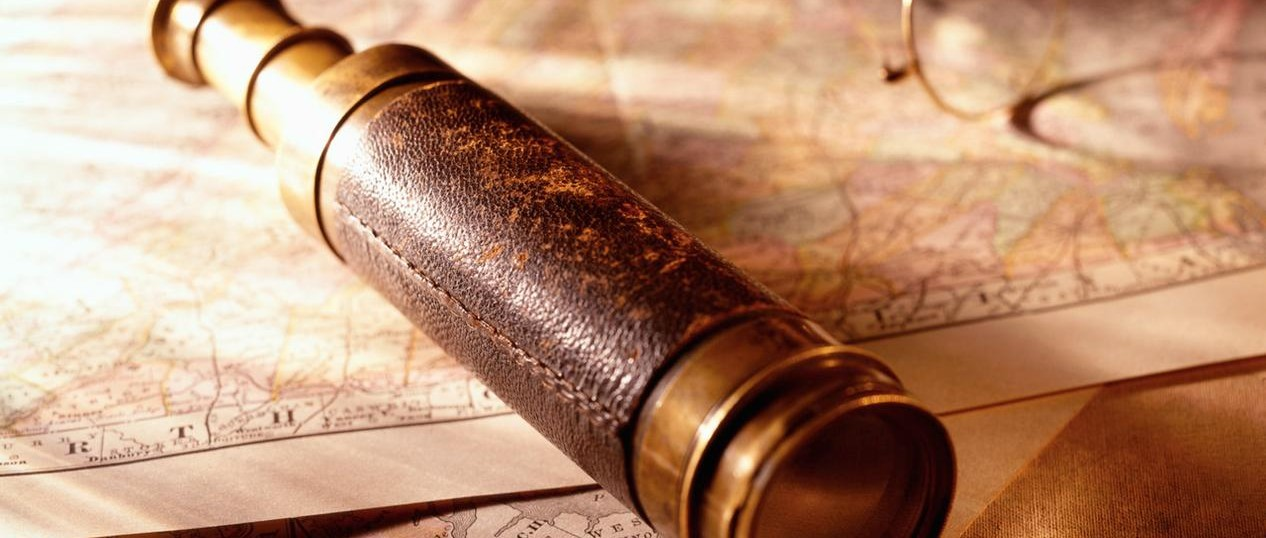 Old Maps and Spyglass