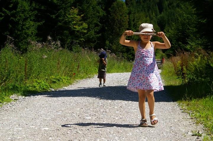 The way to the Grünberg