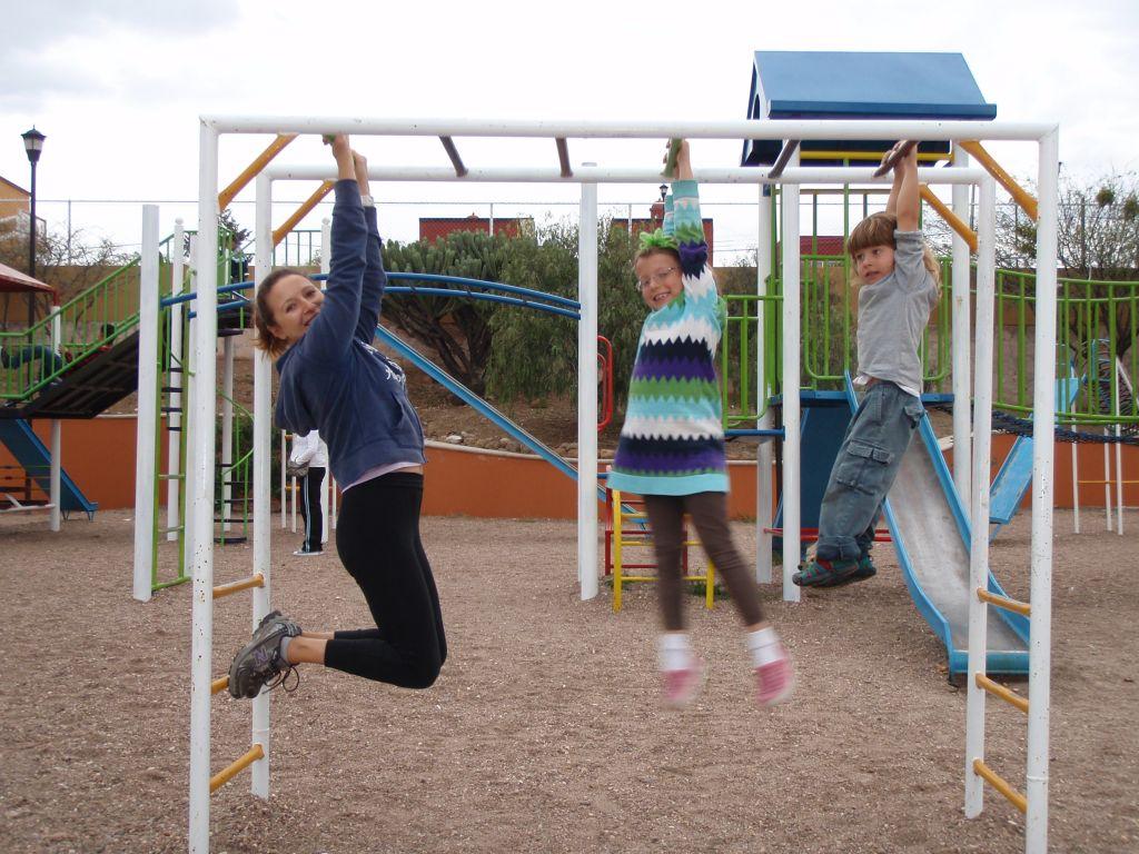 Playground Fitness Routine